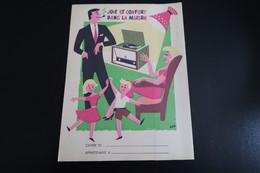 Ancien Protège-cahier: Joie Et Confort Dans La Maison - Achetez PHILIPS C'est Plus Sûr - Book Covers