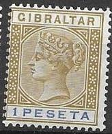 Gibraltar Mlh * 7 Euros 1895 - Gibraltar