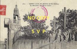 00939 SAINT CYR AU MONT D'OR // LE BELVEDERE DU MONT CINDRE // ECRITE // TIMBRE // DOS DIVISE - Andere Gemeenten
