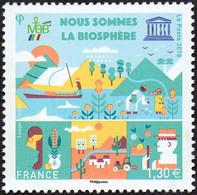 France - Timbre De Service N° 172 ** UNESCO - Nous Sommes La Biosphère - Nuevos