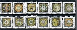 YT AA 1777 A 1788 Serie Complete Assiettes Artisanat - Luchtpost