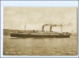 XX12852/ Dampfer T.S.S. Polonia  Baltic America Linie  Foto AK Ca.1925 - Piroscafi