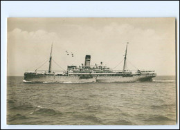 XX12870/ Dampfer Postdampfer Adolph Woermann Foto AK 1930 - Steamers