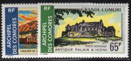 Comores 1971 Yvert PA 32 Et 34 Neufs** MNH (AF55) - Poste Aérienne