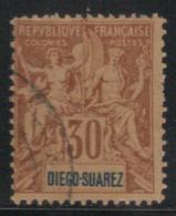Diego Suarez 1893 Yvert 46 Oblitéré (AF55) - Gebruikt