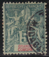 Grande Comore 1897 Yvert 4 Oblitéré (AF56) - Gebruikt