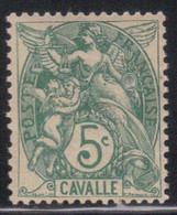 Cavalle 1902/11 Yvert 10 Neuf** MNH (AF56) - Unused Stamps