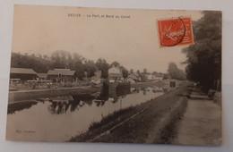 Decize. Le Port Et Bord Du Canal - Decize