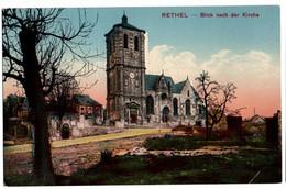 Rethel - Blick Nach Der Kirche - Rethel