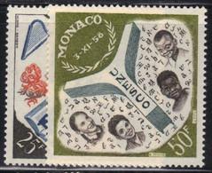 Monaco 1959 Yvert 511/12 Neufs** MNH (AF69) - Unused Stamps