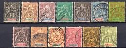 Nossi-Bé: Yvert N° 27/39; 13 Valeurs - Used Stamps