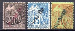 Nossi-Bé: Yvert N° 23-24-26 - Used Stamps