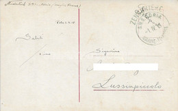Austria KuK K.u.K.marine Navy Pola Kriegsmarine Ship Schiff Stamp Stampel 1915 SMS S.M.S. S M S Adria - U13 - Warships