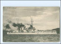 XX12901/ S.M.S. Nassau Marine Kriegsschiff AK 1911 - Warships