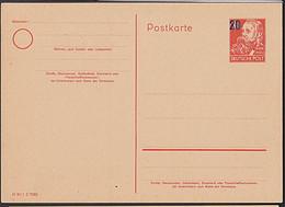 DDR P42/02 20 Auf 30 Pfg. Friedrich Engels GA-Karte Ungebraucht - Postales - Nuevos
