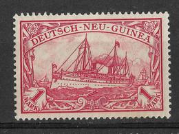 German New Guinea, Deutsch-Neuguinea 1901, 1 Mark. Mi 16 /Sc 16. MLH. - Kolonie: Deutsch-Neuguinea