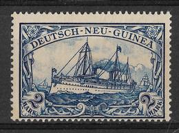 German New Guinea, Deutsch-Neuguinea 1901, 2 Mark. Mi 17 /Sc 17. MLH. - Kolonie: Deutsch-Neuguinea