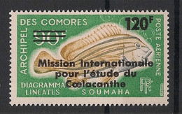 Comores - 1973 - Poste Aérienne PA N°Yv. 52 - Coelacanthe - Neuf Luxe ** / MNH / Postfrisch - Poste Aérienne