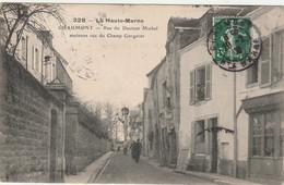 Haute Marne.  Chaumont.  Rue Du Docteur Michel, Ancienne Rue Du Champ Gorgerot. - Chaumont