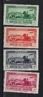 GRAND LIBAN           N°  YVERT   PA 75/78     NEUF SANS CHARNIERE      ( Nsch 02/17 ) - Poste Aérienne