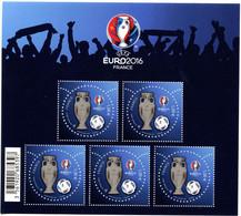 France - 2016 - UEFA Euro 2016 - Bloc Feuillet Neuf  BF 137 - Cote 160,00 Euros - Ungebraucht