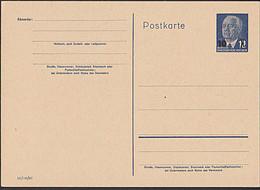 Germany East DDR P62  10 Auf 12 Pfg. Wilhelm Pieck GA-Karte Ungebraucht - Postales - Nuevos