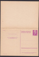 Germany East DDR P74 115/15 DoppelkarteWalter Ulbricht GA-Karte Ungebraucht - Postales - Nuevos