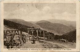 Eberhardt Bahn - Drahtseilbahn Zur Beförderung Von Heeresachen In Den Vogesen - Guerre 1914-18