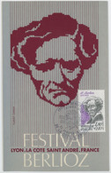 CM France - Festival Berlioz - La Cote Saint André - 1983 - 1980-89