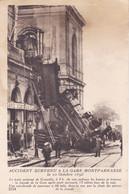 PARIS ACCIDENT SURVENU A LA GARE MONTPARNASSE LE 22 OCTOBRE 1895 - Paris (14)