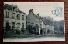 Carte Postale Ancienne - Dampierre- Vallée De Chevreuse - La Poste - Dampierre En Yvelines