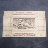 ⭐ Carnet CROIX ROUGE N°2001, Timbres NEUFS** 1952 - Excellent État Côté Y&T 550€ Versailles Bassin De Diane ⭐ - Croix Rouge