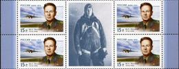 Russia, 2014, Mi. 2031, Sc. 7519, The 100th Anniv. Of M.L. Gallai, Test Pilot, Airplanes, MNH - Ungebraucht