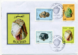 Algeria 2002 FDC - Minerals - Minerals