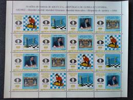 Equatorial Guinea   MNH (**)1996 Chess..Karpov-Kamsky - Other