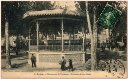 13 - ARLES - Kiosque à Musique - Promenade Des Lices ***  RARE  *** - Arles