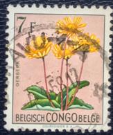 Congo-Belge - Belgisch Congo - T1/3 - (°)used - 1952 - Michel 311 - Bloemen - 1947-60: Used