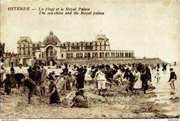 OSTENDE-OOSTENDE - La Plage Et Le Royal Palace - Oostende