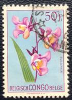 Congo-Belge - Belgisch Congo - T1/3 - (°)used - 1952 - Michel 315 - Bloemen - 1947-60: Used