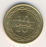 BAHRAIN 2008: 10 Fils, KM 28.1 - Bahrain