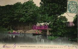 ENGHEIN LES BAINS -95- LE PONT ENTRE LES DEUX LACS - Enghien Les Bains