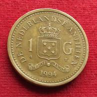 Netherlands Antilles 1 Gulden 1994 KM# 37 *V2 Antillen Antilhas Antille Antillas - Netherland Antilles