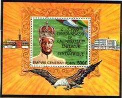 "Centrafrique Bloc YT 22 BF "" Couronnement De Bokassa 1er "" 1978 Neuf** - Central African Republic"