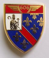 Insigne Militaire Aviation Armée De L'Air EAA 606 VARENNES - Forze Aeree