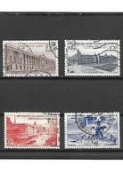 1648 La Série Complète - 12ème Congrès De L'union Postale YT 780 à 783 Oblitérés - Usados