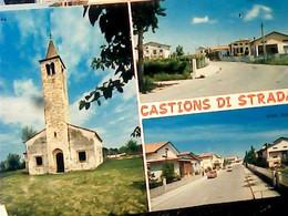 CASTION DI STRADA VEDUTE PAESE UDINE  VB1982 HY4065 - Udine