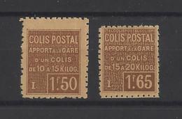 FRANCE.  YT   Colis Postaux  N° 50-51  Neuf *  1926 - Mint/Hinged