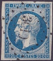 France Napoléon III Type I N°14A Année 1854 Oblitéré TB - 1853-1860 Napoleon III
