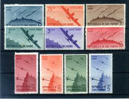 1946 SAN MARINO PA SET * - Airmail
