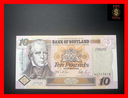 SCOTLAND  10 £  1.2.1995  P. 120 A   Bank Of Scotland   *commemorative*  First Date    AU \ UNC - 10 Pounds